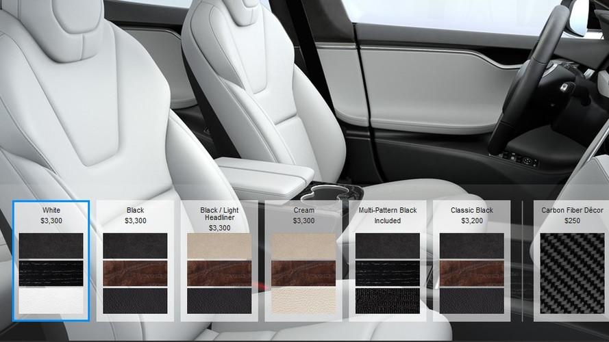 Tesla Eliminates Leather Seating Options On Model S, Model X