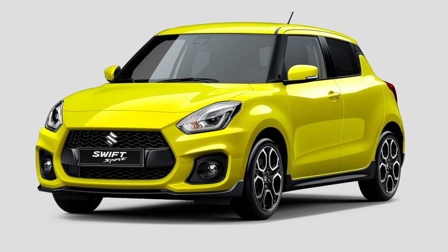 La brochure de la Suzuki Swift Sport en fuite sur la toile