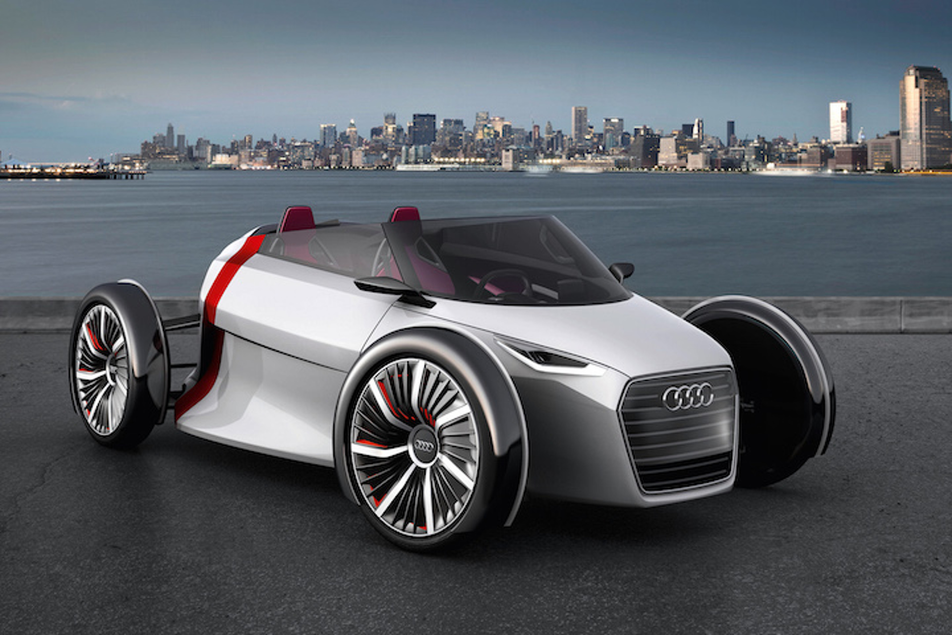the 7 strangest audi concept cars ever built. Black Bedroom Furniture Sets. Home Design Ideas
