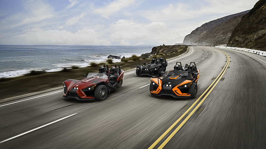2017 Polaris Slingshot gets luxury trim and removable roof