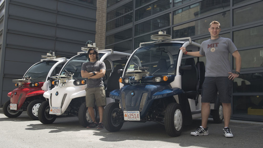 Ford and MIT testing autonomous electric shuttles
