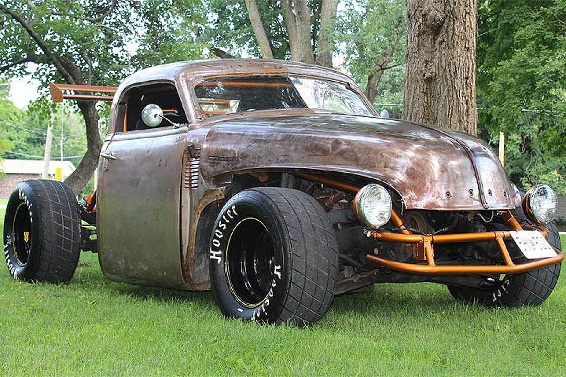 This 1947 Chevrolet Pickup is Half Rat Rod, Half Racecar