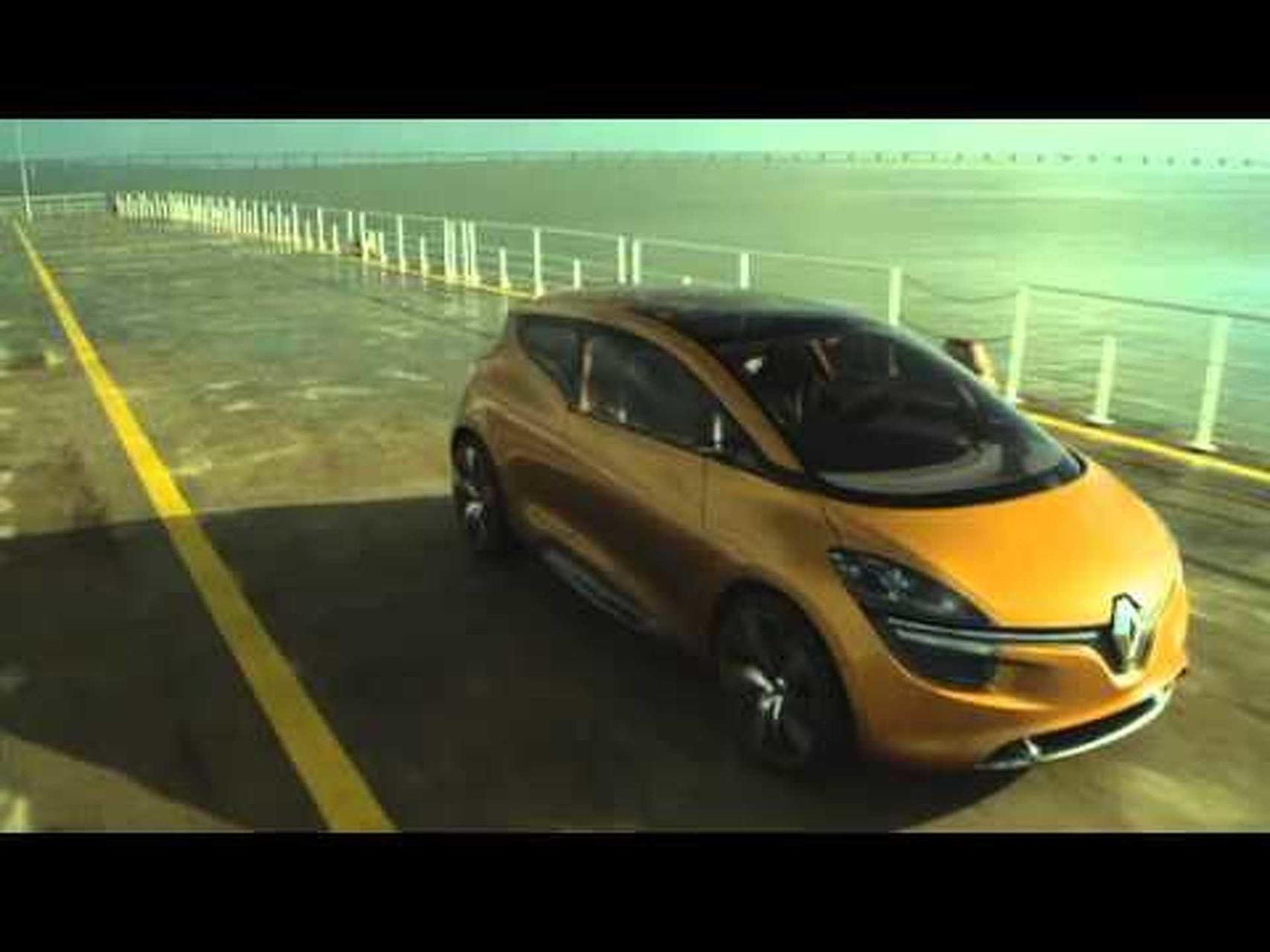2011 Renault R-Space Concept Dynamic Shots