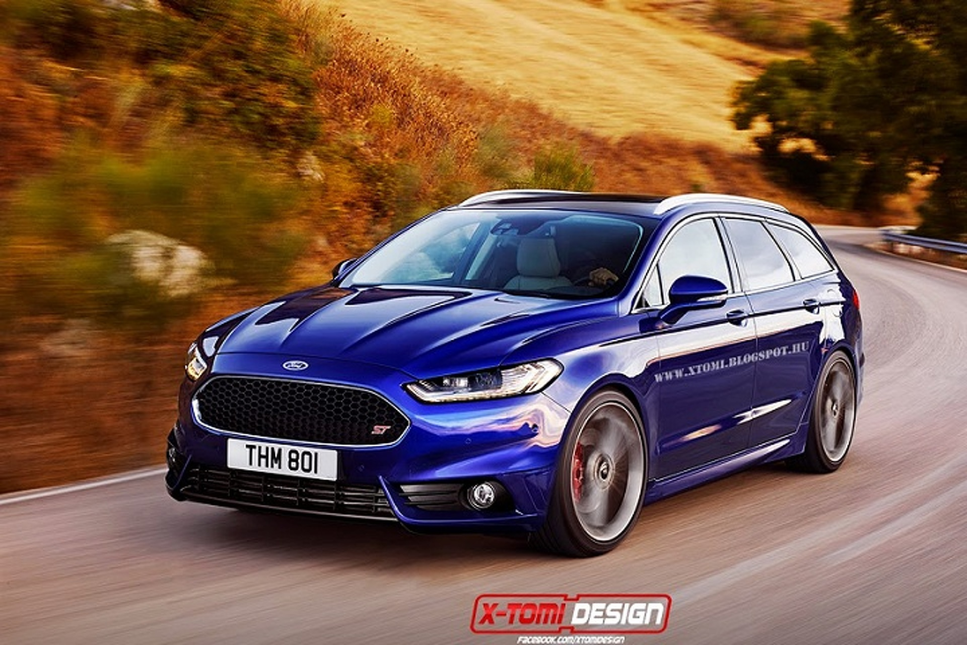Ford Fusion/Mondeo ST Rendering Makes Us Drool