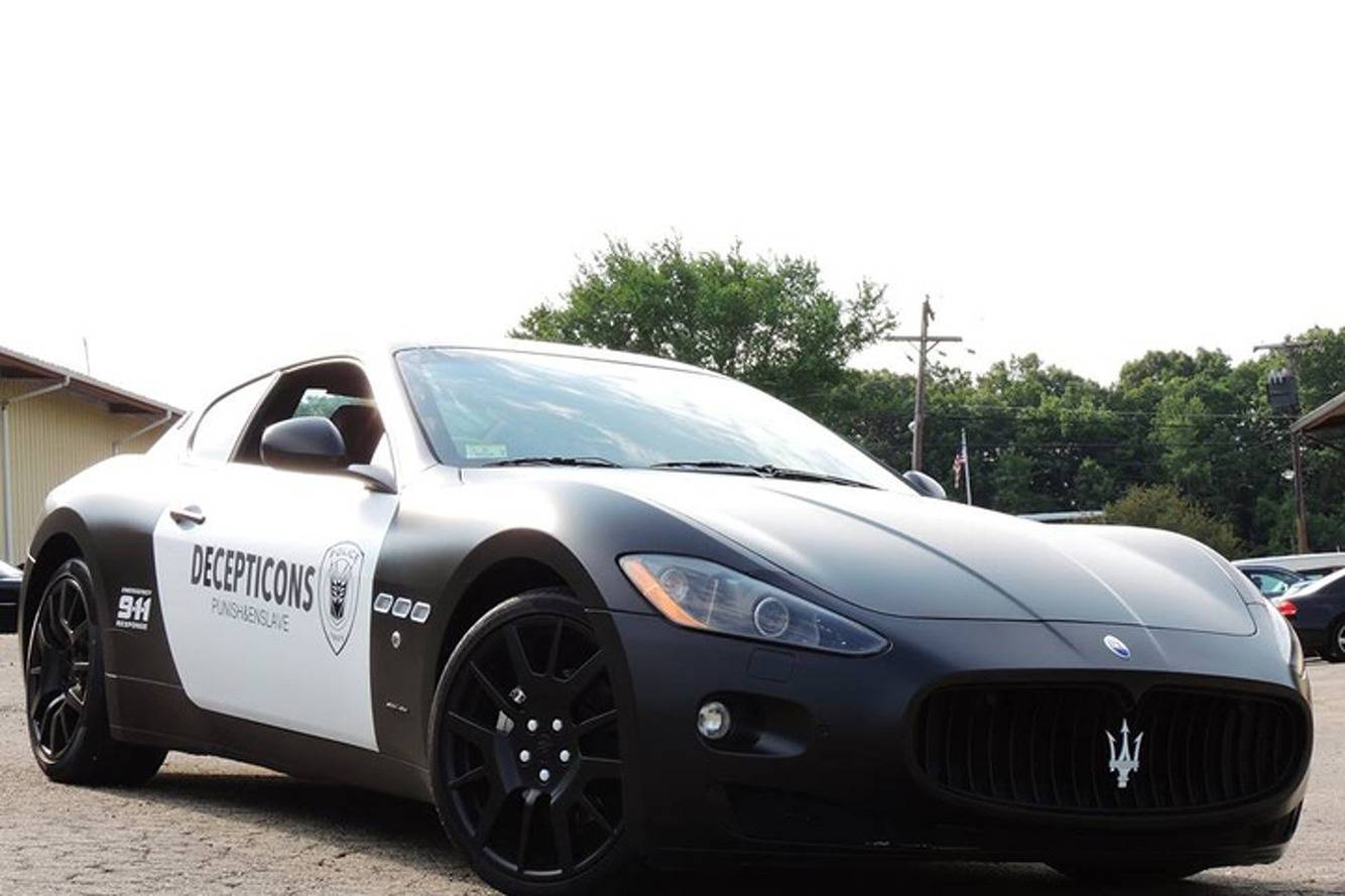 The Maserati Transformers Guy is Fighting Back