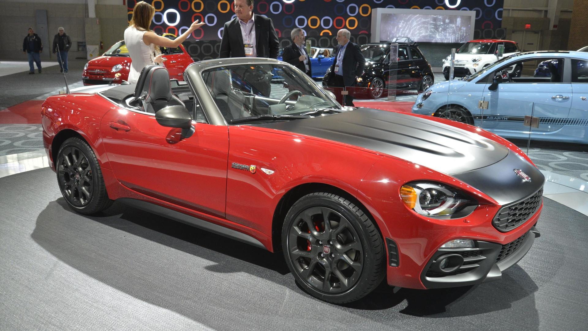 2017 fiat 124 spider elaborazione abarth debuts in new york. Black Bedroom Furniture Sets. Home Design Ideas