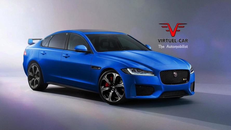 Jaguar XFR-S rendering previews a very possible look
