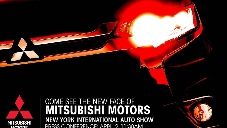 Mitsubishi teases new model for New York Auto Show, likely 2016 Outlander facelift