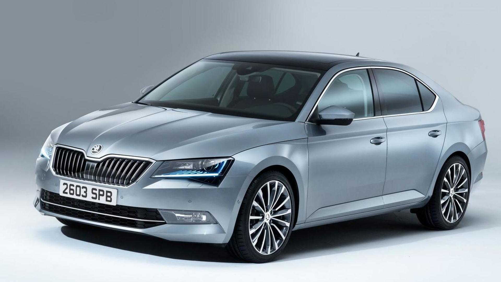 skoda superb news and reviews. Black Bedroom Furniture Sets. Home Design Ideas