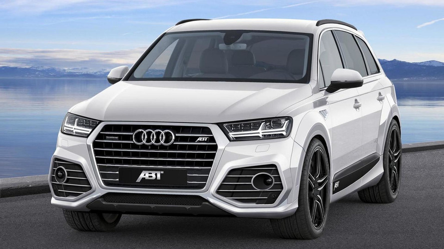ABT takes a first stab at tweaking the 2015 Audi Q7