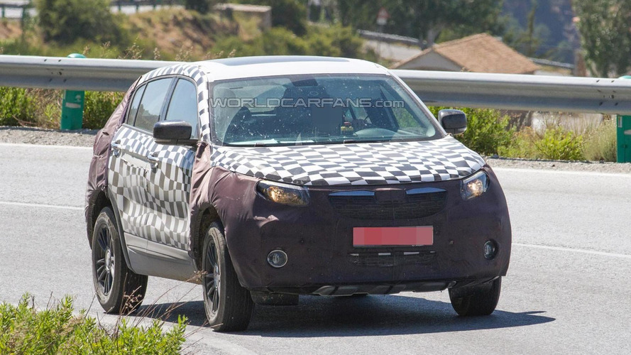 Unknown Qoros SUV spied in southern Europe