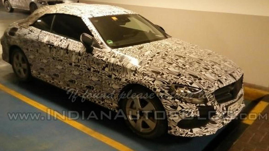 Mercedes C-Class Cabriolet test prototype spotted in Dubai