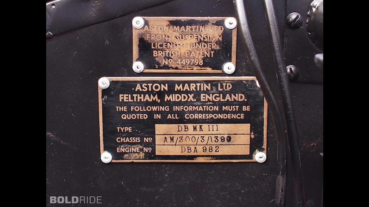 Aston Martin DB2/4 Mark III Coupe