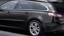 2011 Peugeot 508 station wagon leaked image