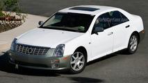 Cadillac STS Facelift Spy Photos