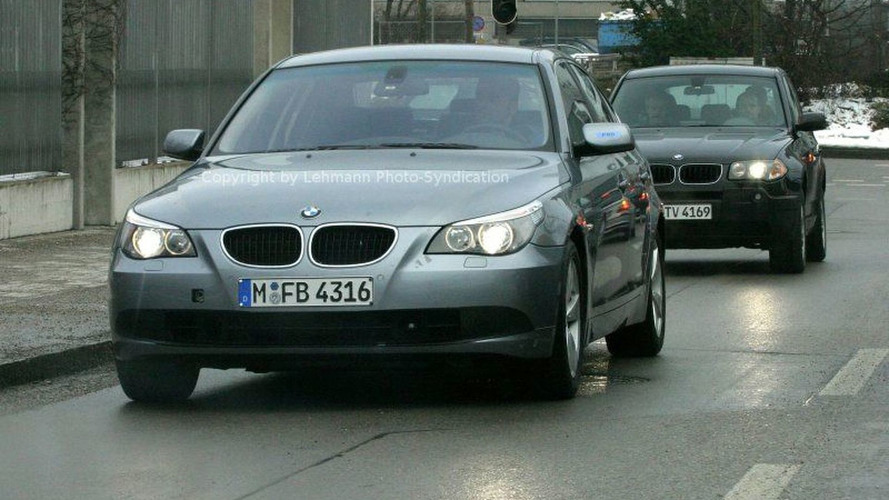 New BMW 5-Series and Mercedes E-Class Spy Photos