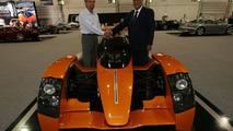 Caparo T1: New UK dealer