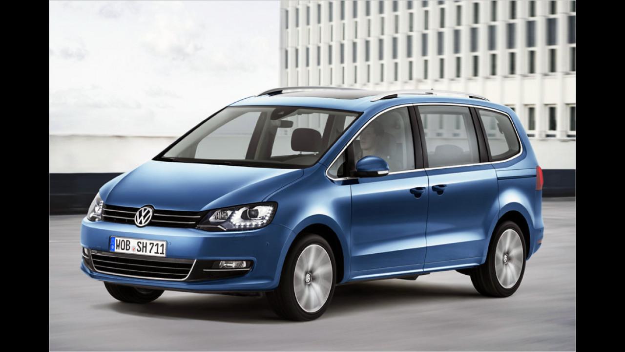 VW Sharan: Das kostet er