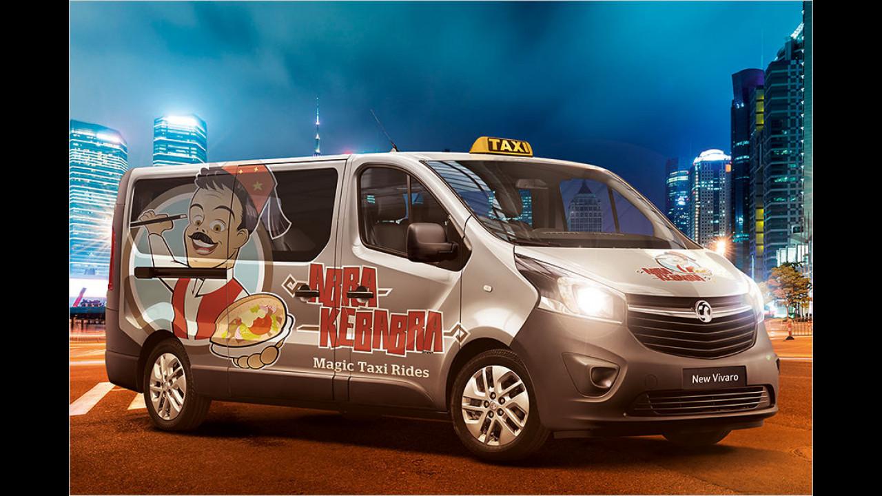 Vauxhall Vivaro Taxi Kebap