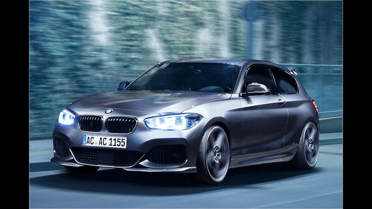 Überraschend: Ein BMW 1er mit 800 Newtonmeter