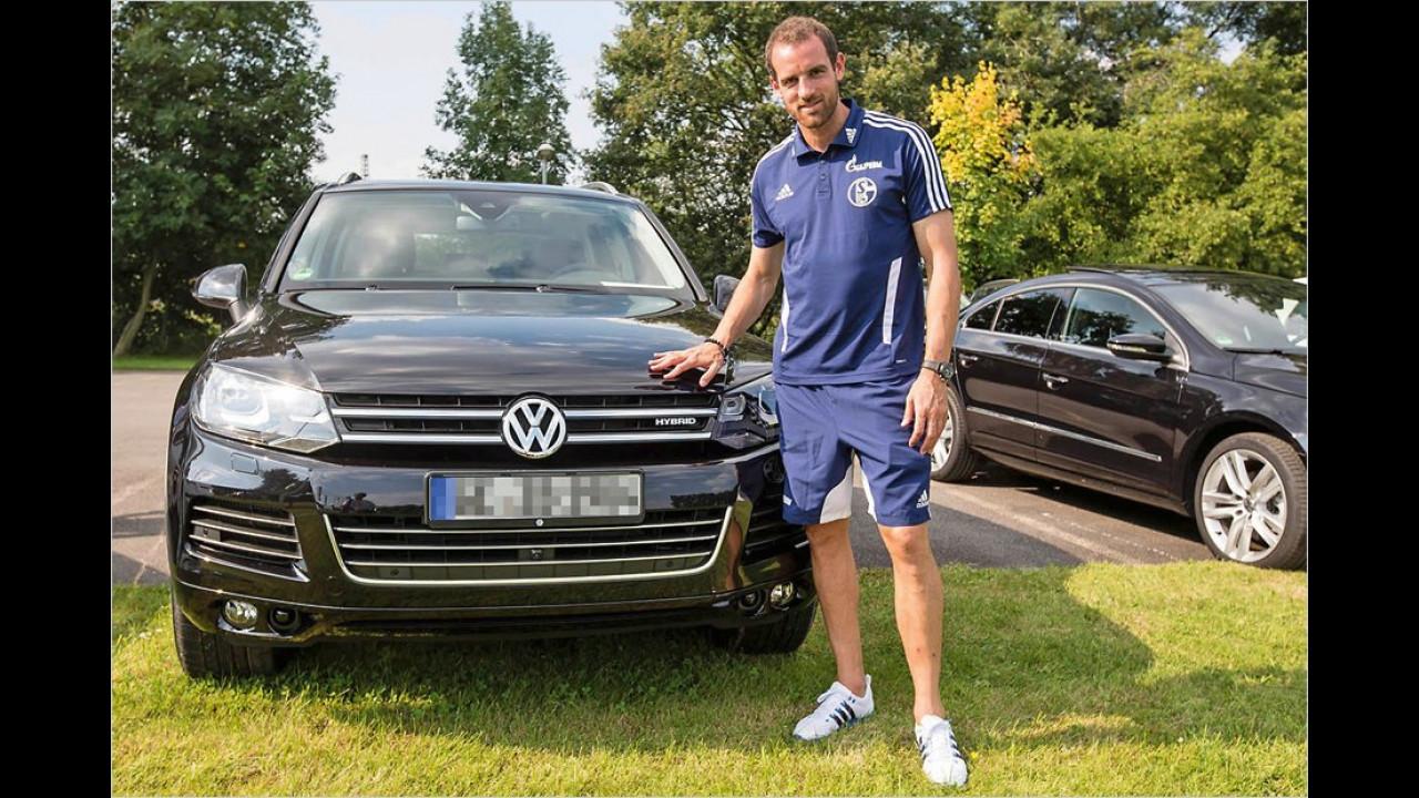 Christoph Metzelder: VW Touareg