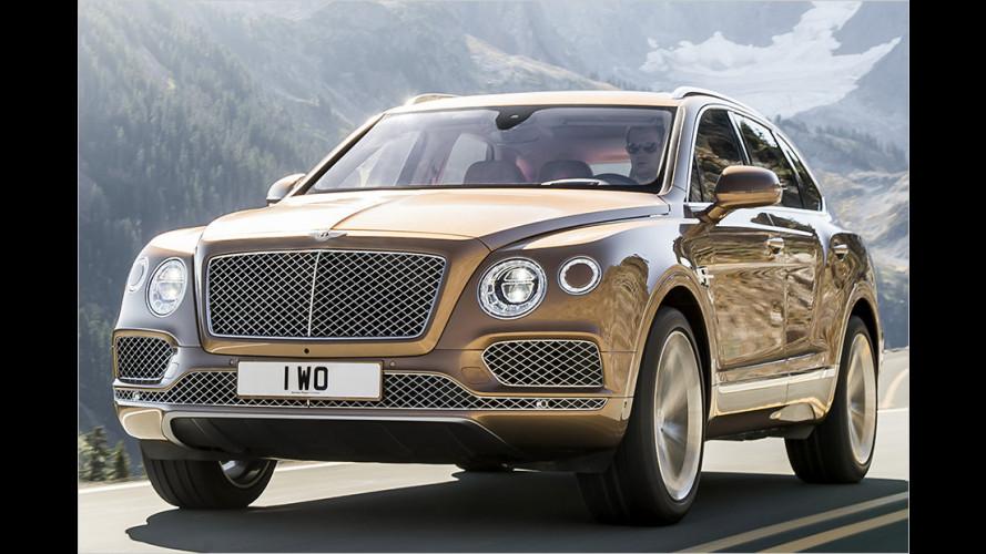 Bentley SUVt wie noch nie