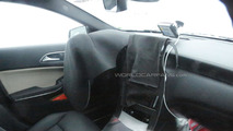 Mercedes A-Class facelift spied inside & out
