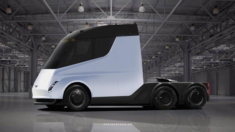 Tesla Semi Spy Photos Give Way To New Renderings