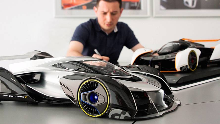 Amalgam'dan McLaren Ultimate Vision GT modeli