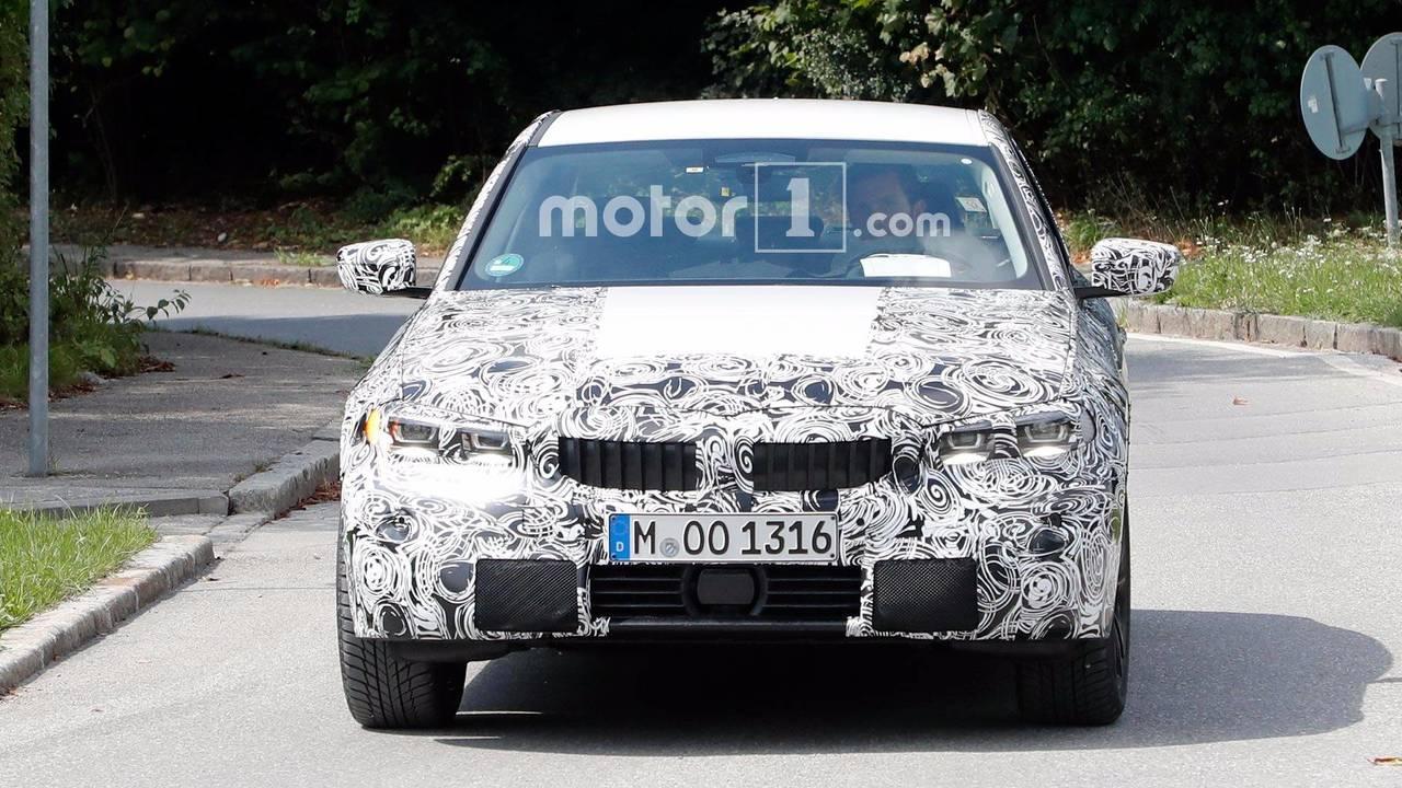BMW Serie 3 2018 fotos espía