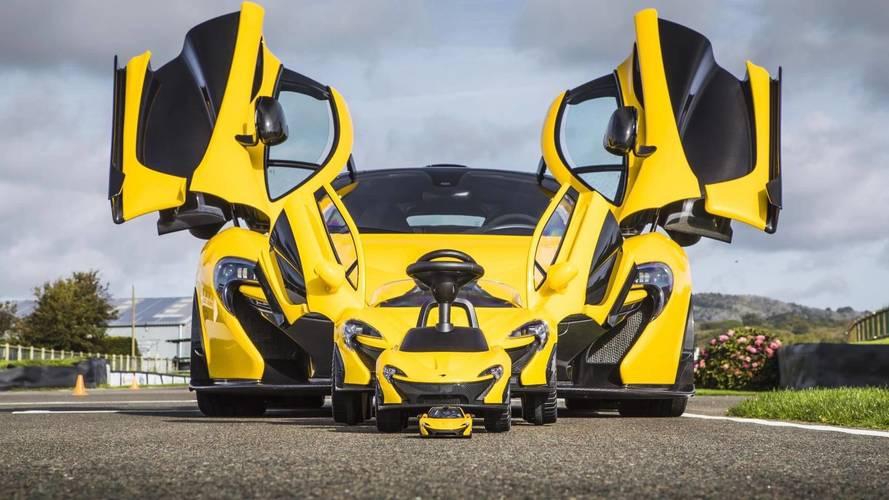 McLaren P1 foot-to-floor