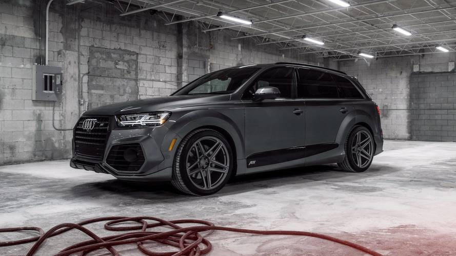 ABT And Vossen Team Up For A Mean-Looking Audi Q7