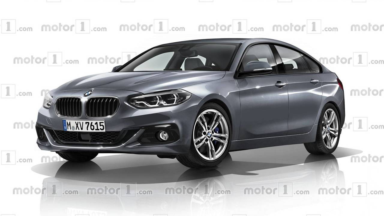 BMW 2 Series Gran Coupe render