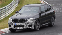 2019 BMW X3 M spy photo