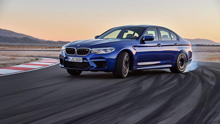 İlk F90 BMW M5 prototipi sadece arkadan çekişe uygunmuş
