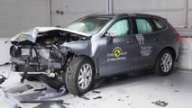 Volvo XC60 Euro NCAP crash test