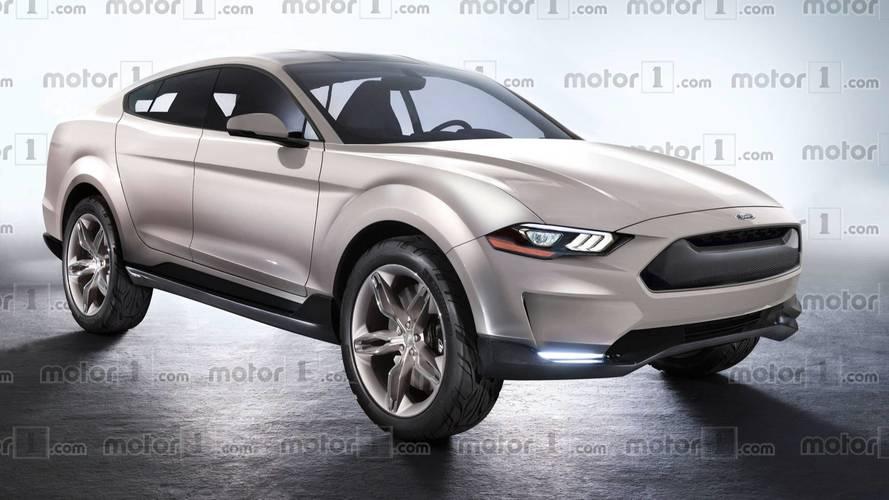 Design - La nouvelle Ford Mustang imaginée en SUV