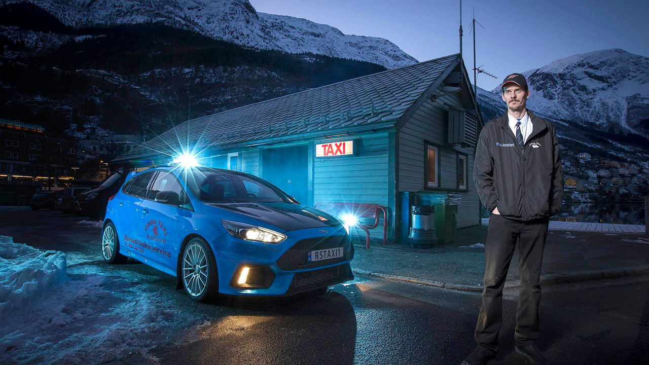Ford Focus RS: Starkes Taxi