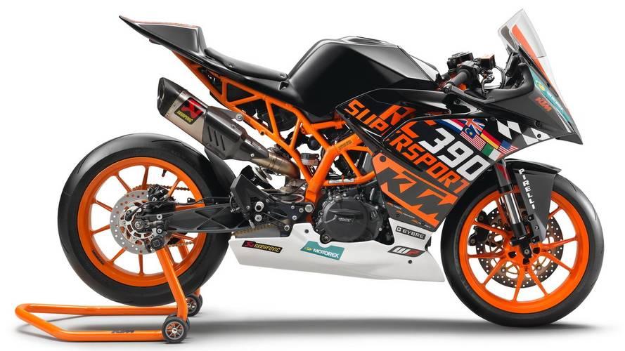 KTM RC 390R: lista para el circuito