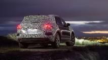 Volkswagen Touareg, i teaser