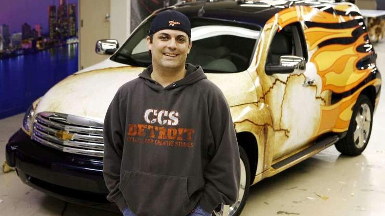 Chevrolet HHR Panel Van Wrap Stars