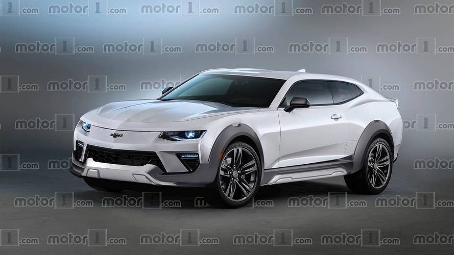 ¡Increíble! Un Chevrolet Camaro SUV y con motor eléctrico
