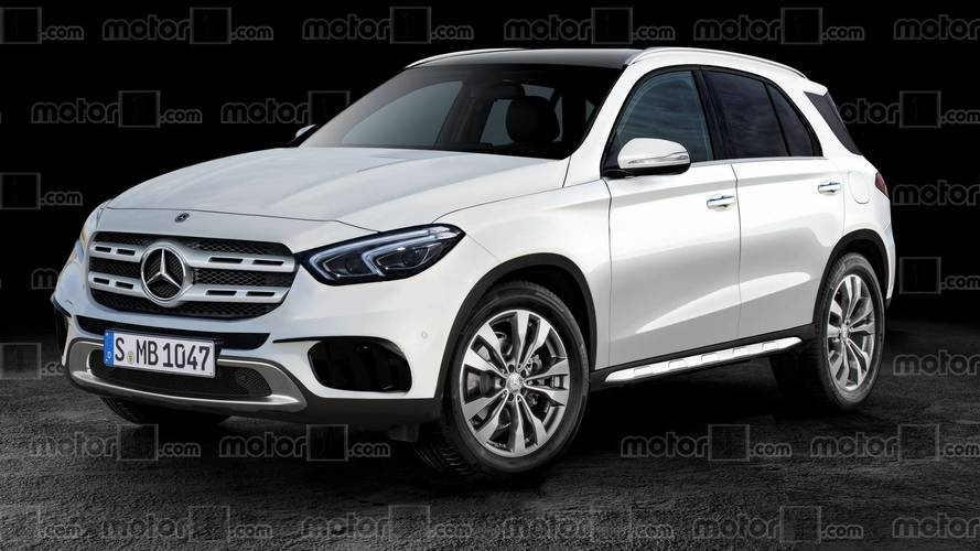 Mercedes-Benz GLE Rendering