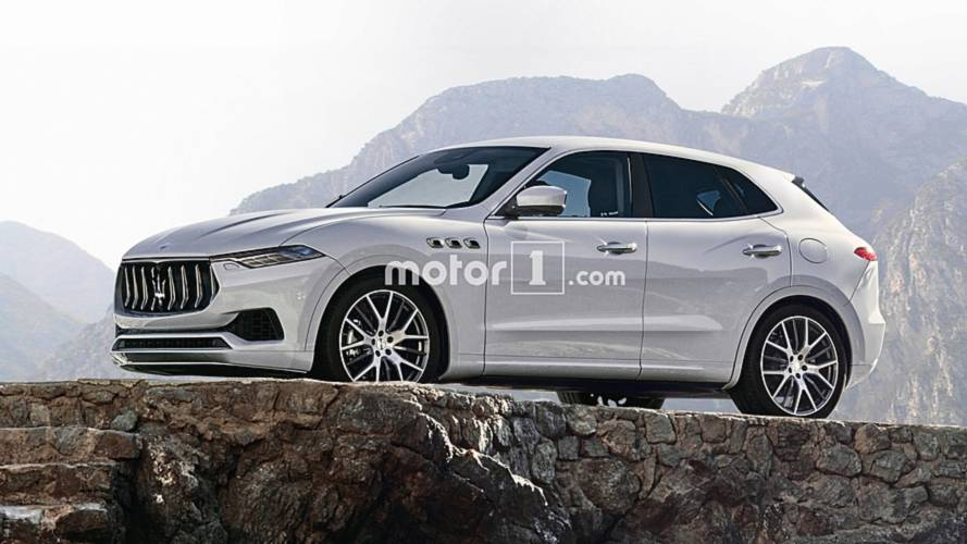 Maserati Baby SUV Imagined In Photoshop