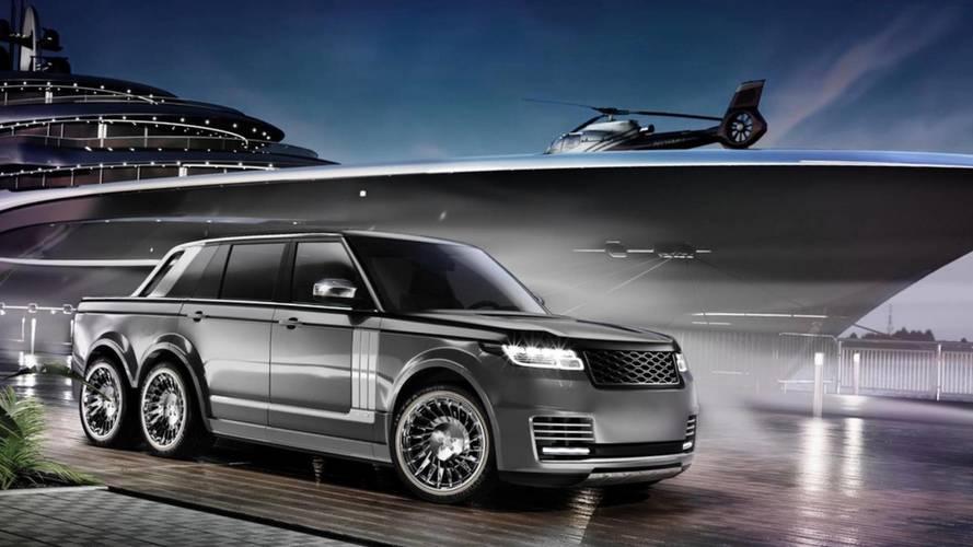 Range Rover SLT Superyacht Land Tender