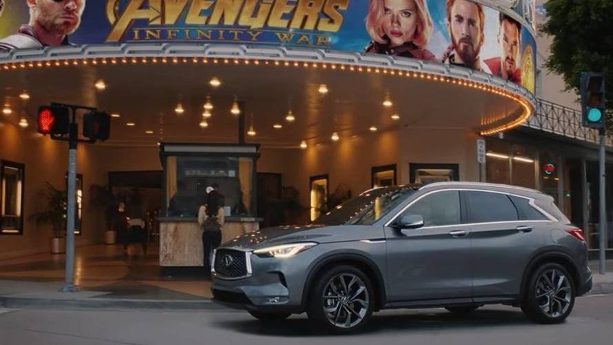 Infiniti War: New QX50 Will Have A Cameo In Latest Avengers Film