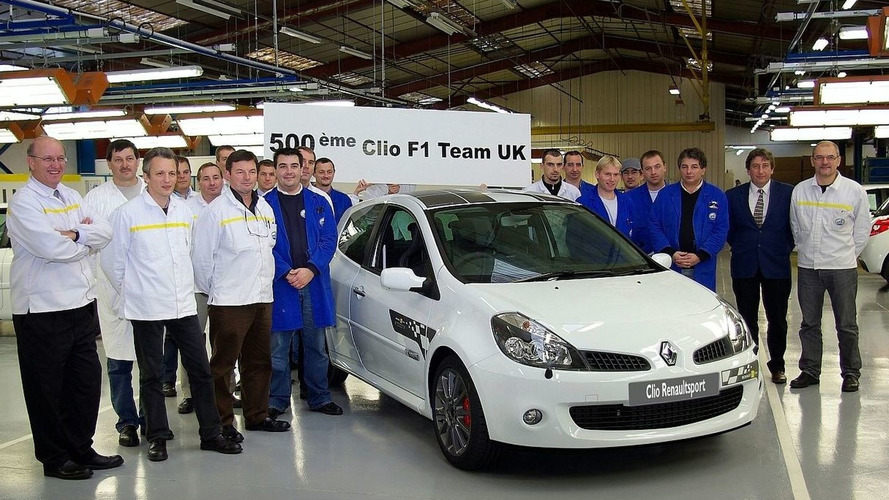 500th And Final Clio Renaultsport 197 F1 Team R27