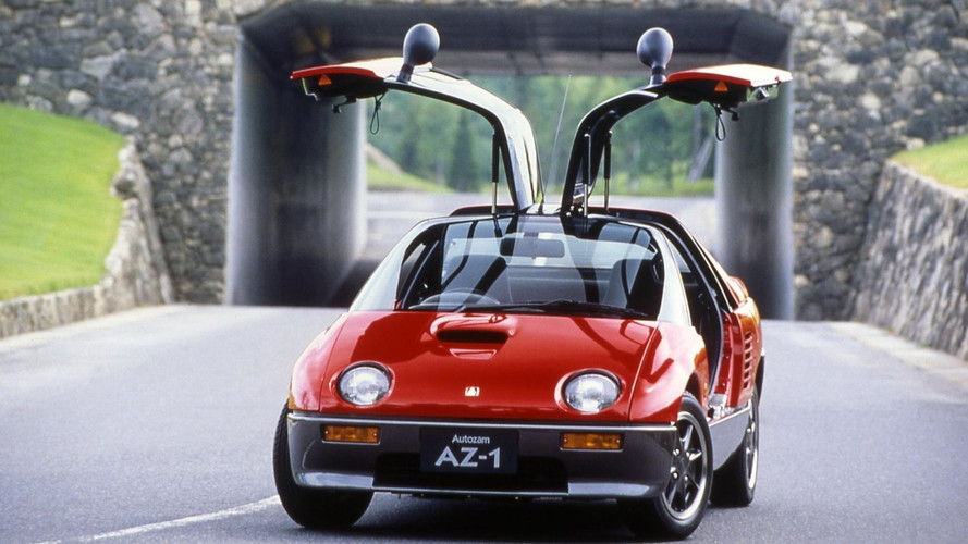 Check Out One Of The Smallest Cars To Feature Gullwing Doors