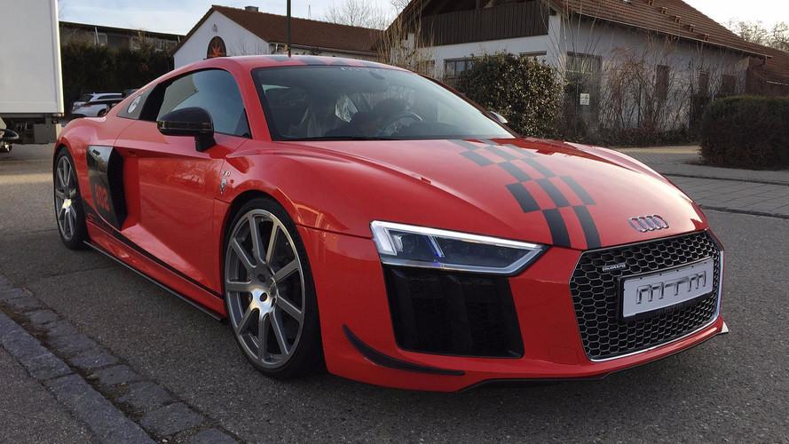 VIDÉO - Une Audi R8 avec un V10 de 813 ch par MTM