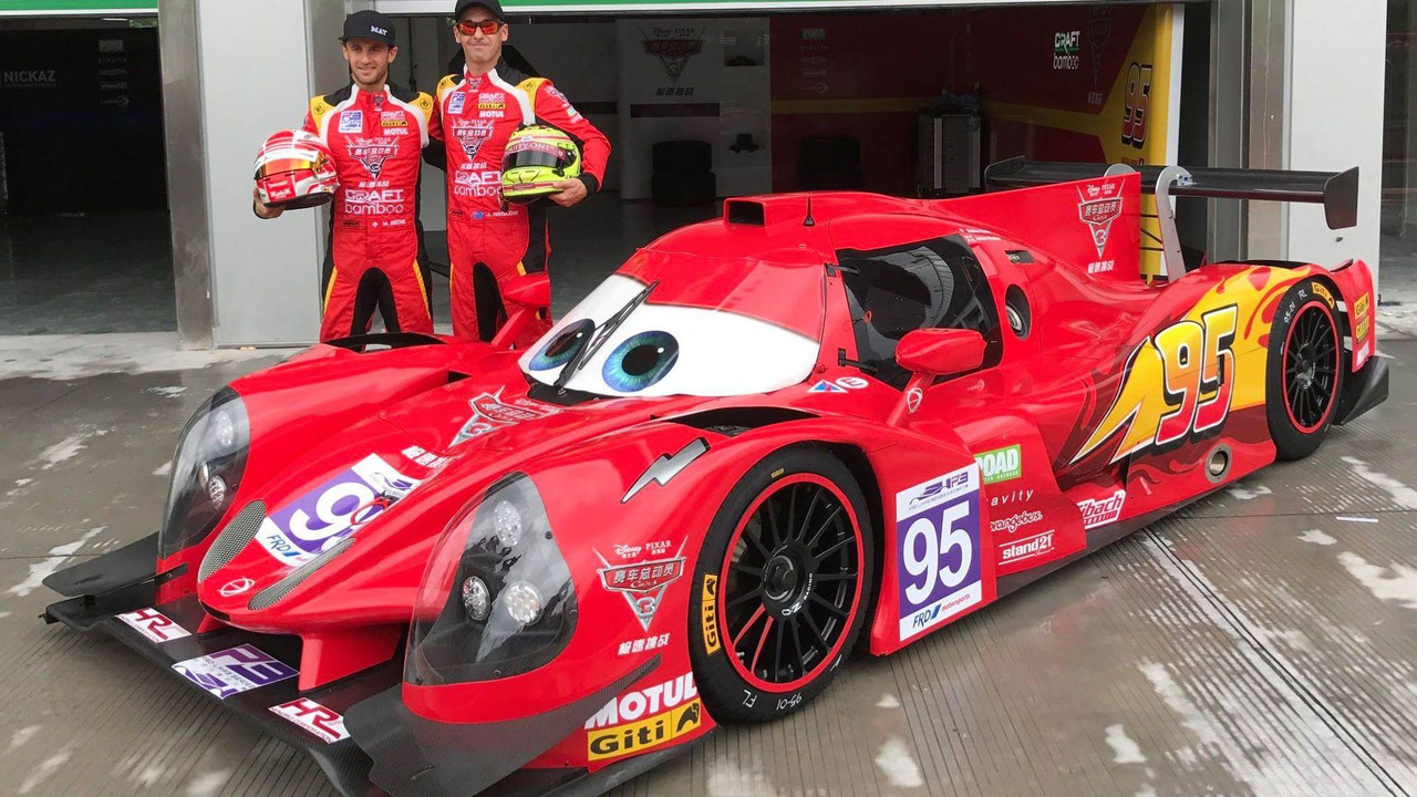 2018 Toyota 4Runner Spy Photos >> LMP3 Race Cars Get Lightning McQueen, Jackson Storm Liveries